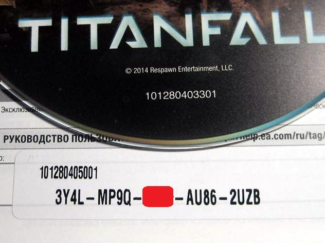 TITANFALL (ORIGIN) RUSSIAN VERSION