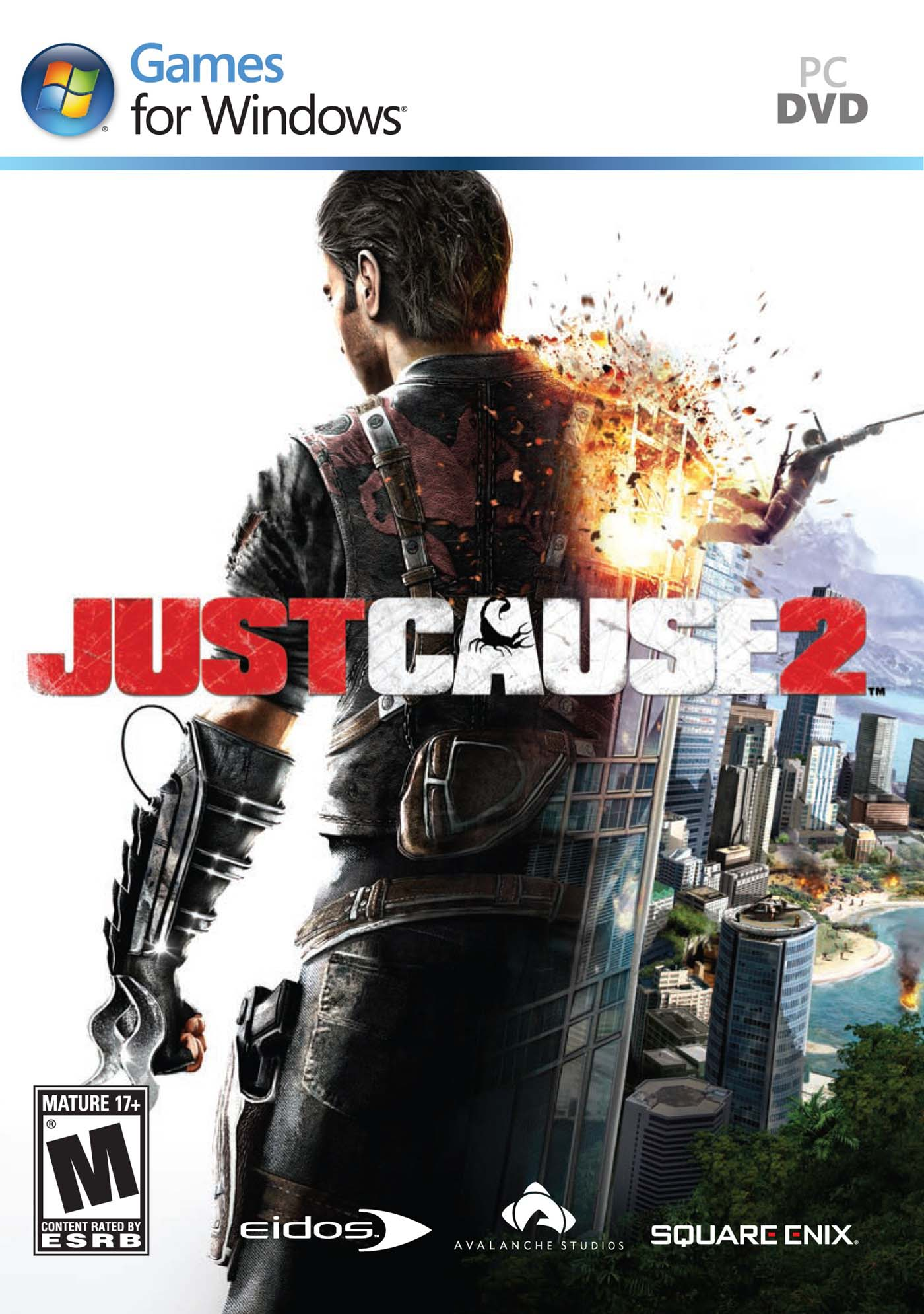 JUST CAUSE 2 (RU) STEAM / ФОТО