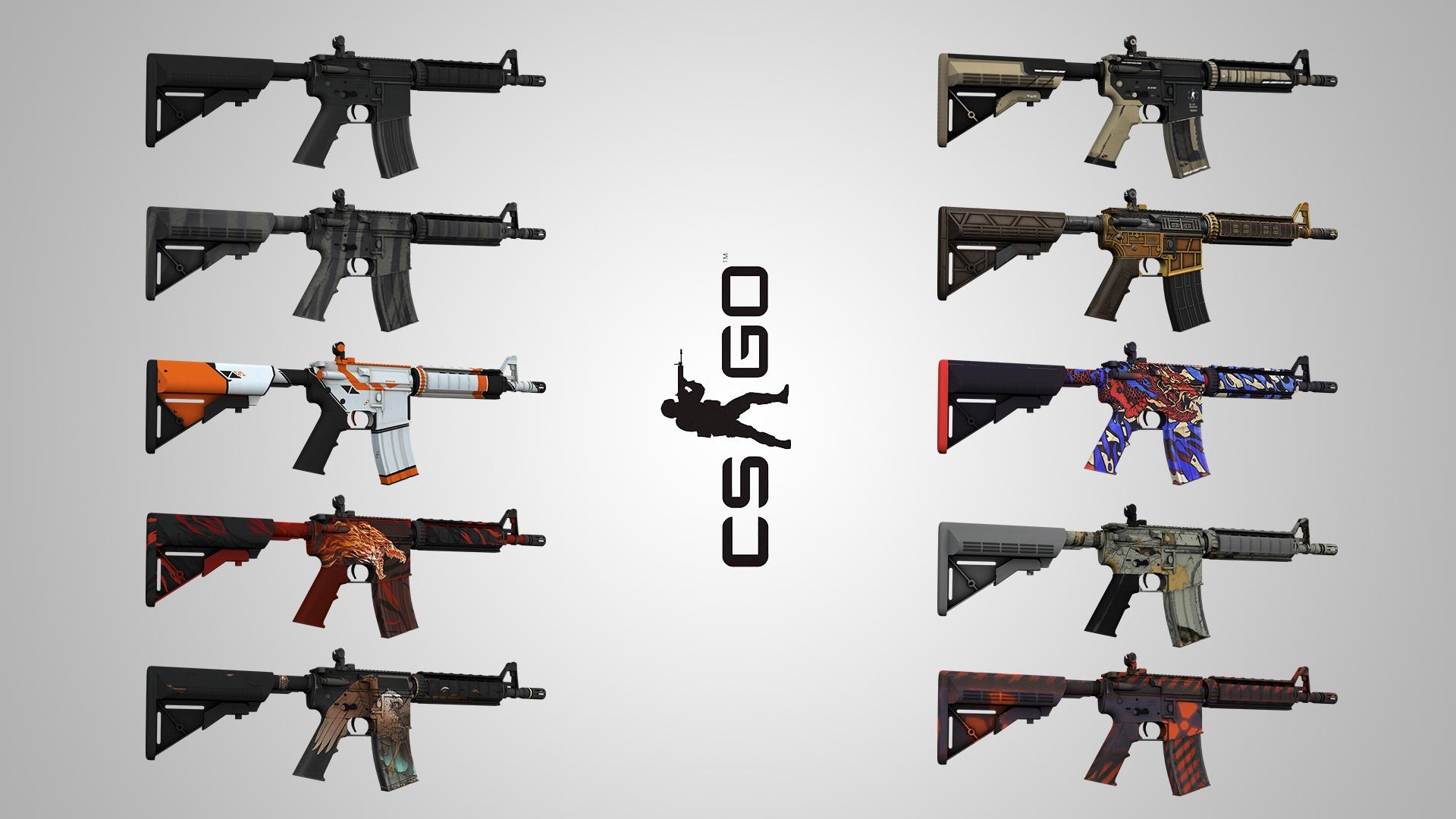 CS:GO   Случайное M4A4 - Лучший рандом