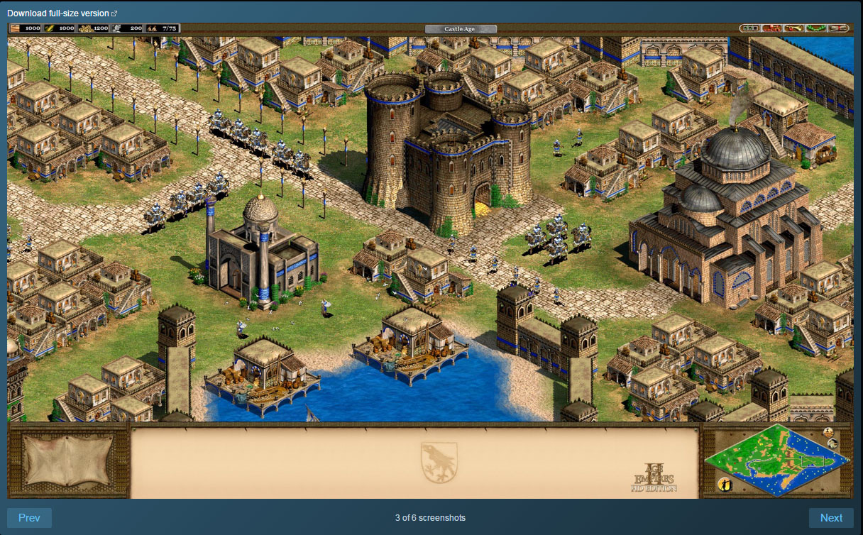 Age of Empires II HD +The Forgotten Expansion Steam ROW