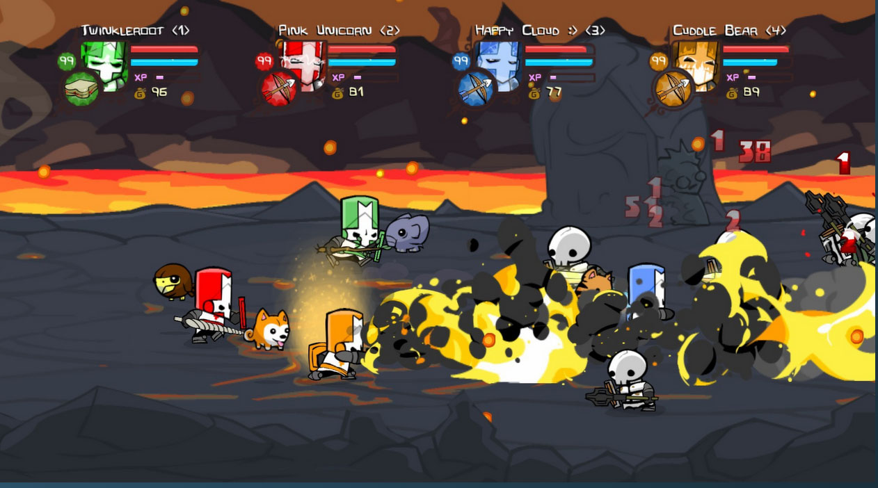 Castle Crashers (Steam Gift [RU+CIS])