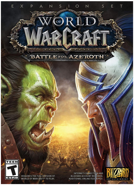 WORLD OF WARCRAFT: BATTLE FOR AZEROTH (RUSSIAN version)