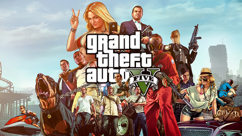 Grand Theft Auto V 5 (Rockstar Games Social Club Key)