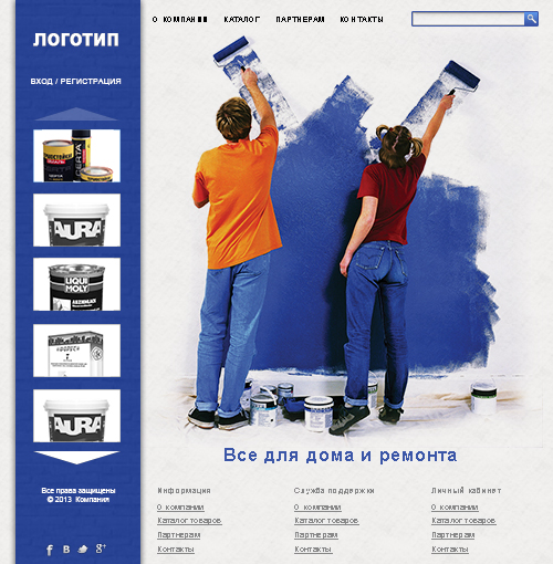 "Web Site Template""Construction and repair""in psd+html5"