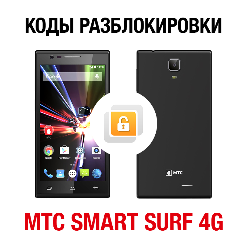 Network unlock code for MTS Smart Surf 4G
