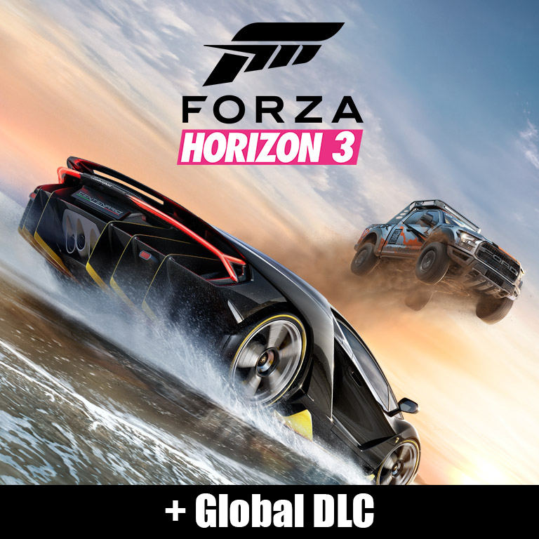 Forza Horizon 3 +Global DLC [WS online activation]+Gift
