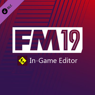 Football Manager 2019 + In-Game Editor (Steam Offline)