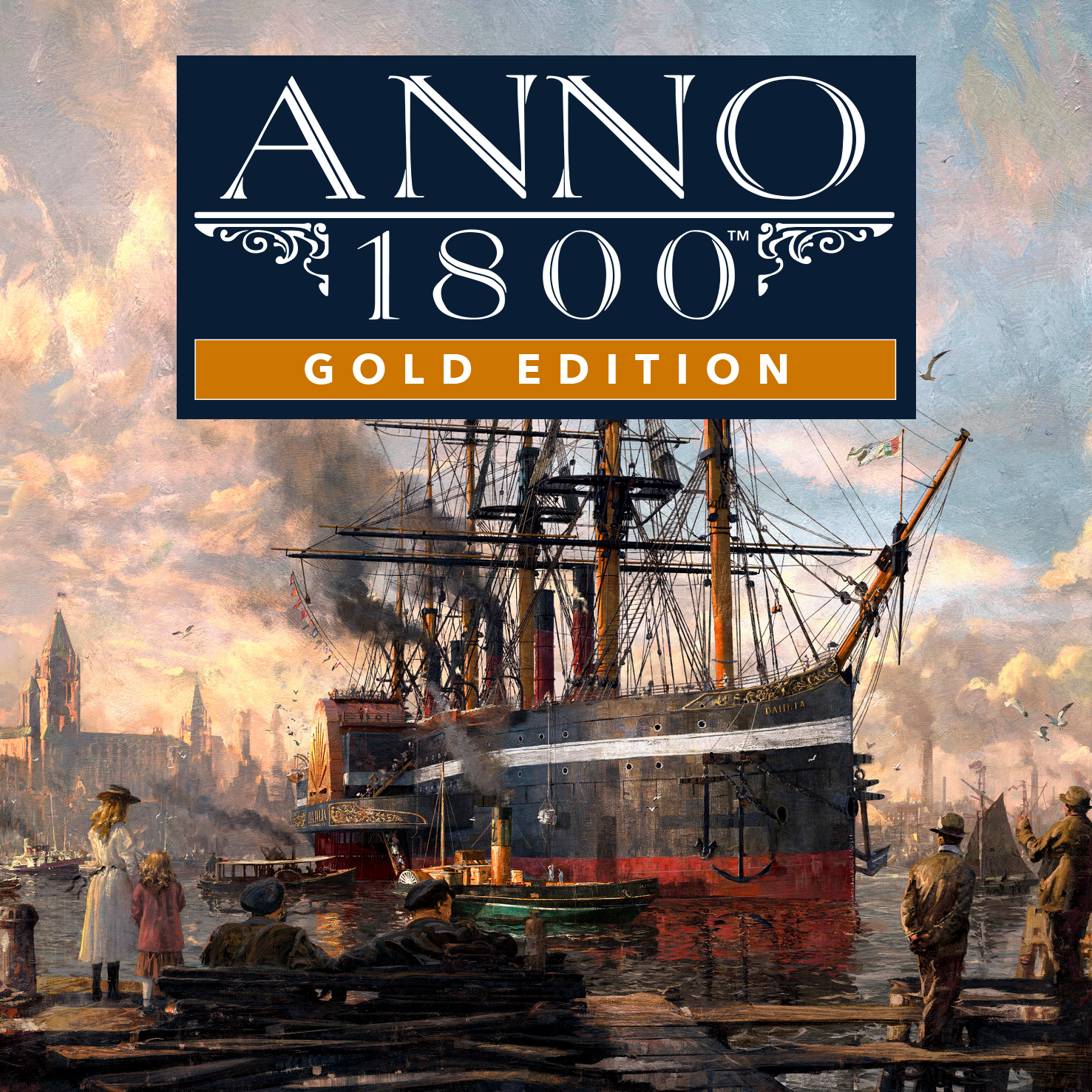 Anno 1800 Gold Edition + ALL DLC (Uplay Offline)
