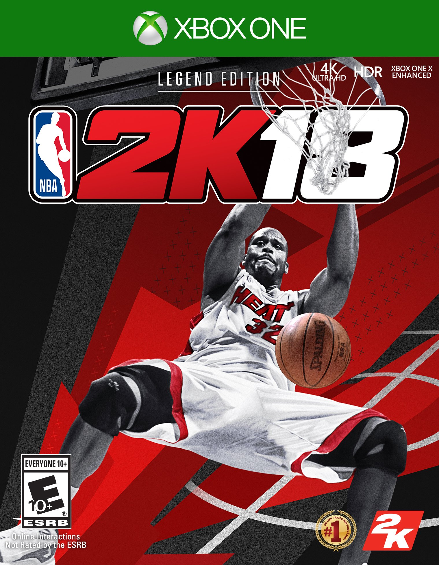 27. NBA 2K18 Legend Edition Gold for XBOX ONE