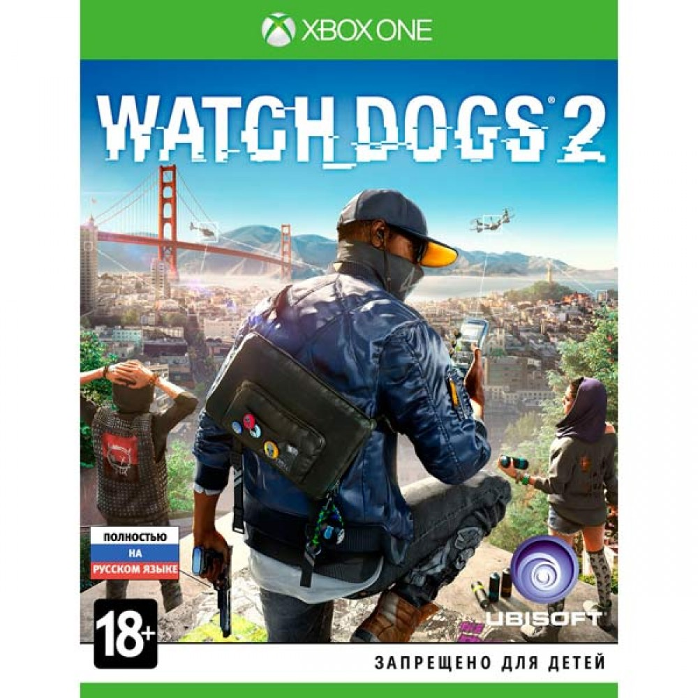 01. Watch Dogs 2 XBOX ONE