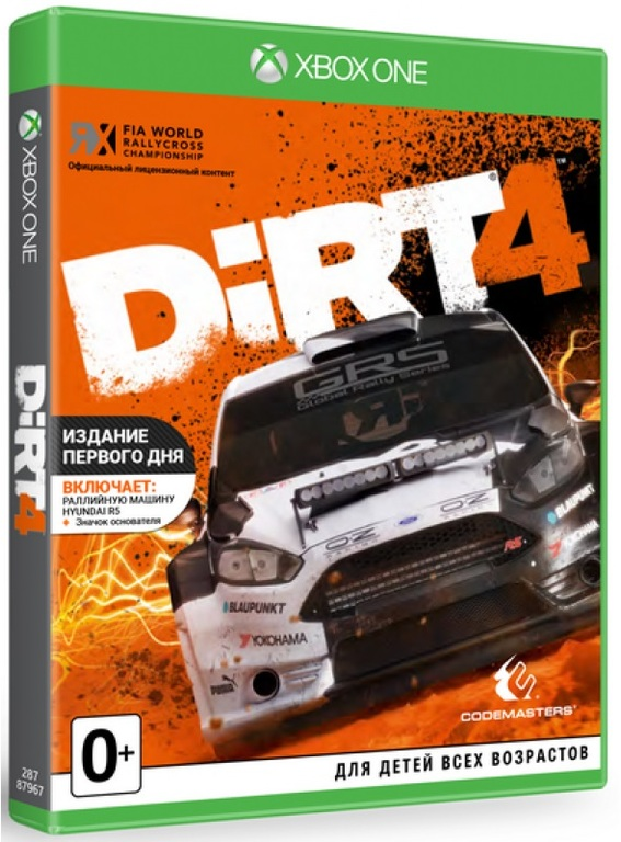 42  DiRT 4 XBOX ONE