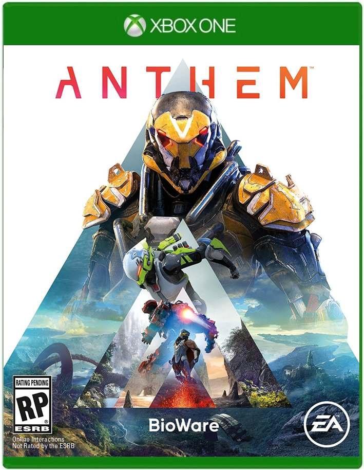 01. Anthem XBOX ONE 2019