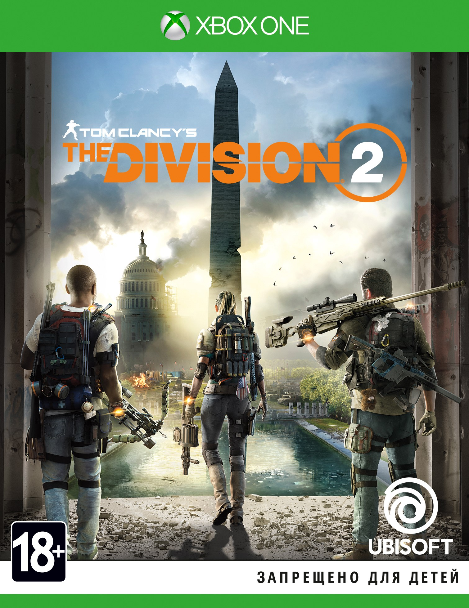 01. Tom Clancy´s The Division 2  XBOX ONE 2019