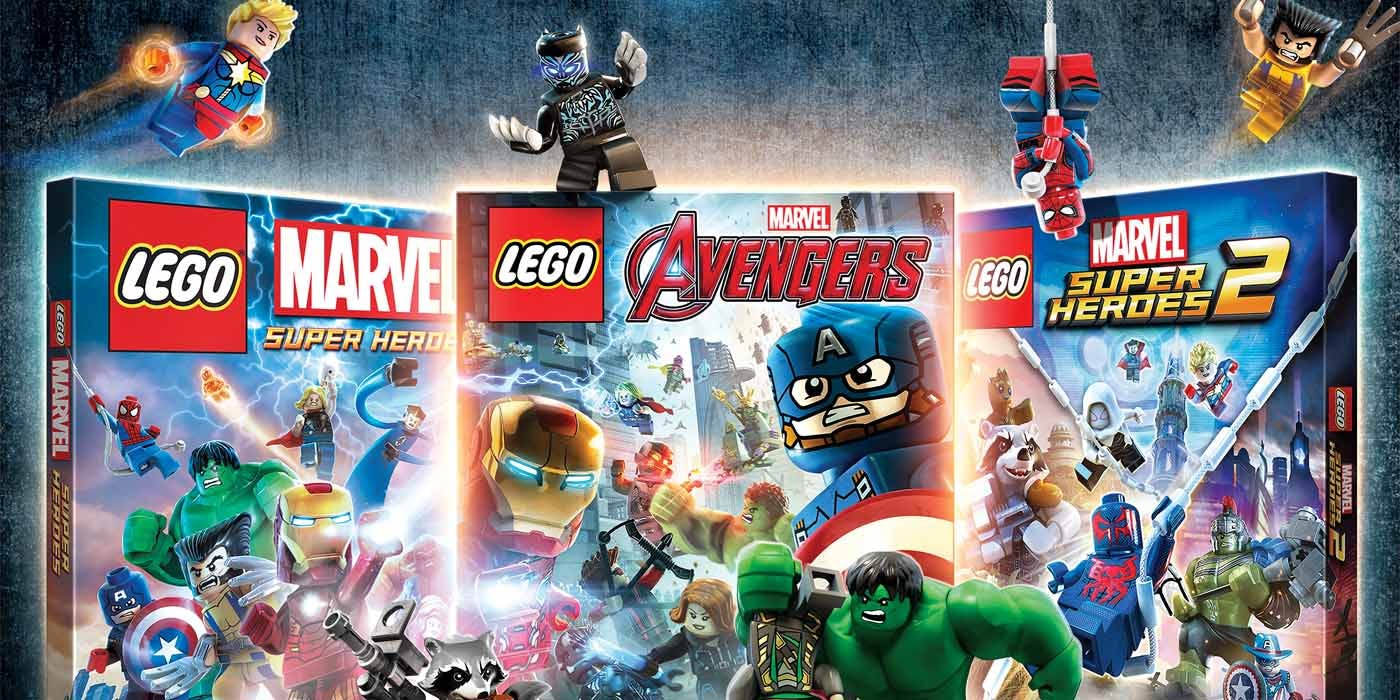 01. LEGO Marvel Collection (3 Games) XBOX ON