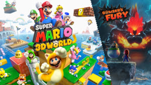 Mario™ 3D World+Bowser's Fury + 8 TOP Games Switch