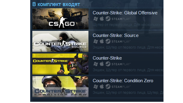 Counter-Strike Complete (Steam Gift/RU+CIS)