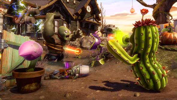 Купить Plants vs. Zombies Garden Warfare + Подарок