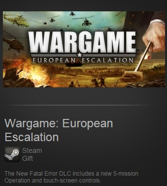 Wargame: European Escalation (Steam / Region Free)