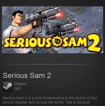 Serious Sam 2 (Steam / Region Free)