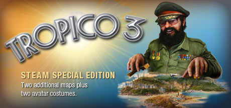 Tropico 3+SkyDrift+Sine Mora 4in1 (Steam Key,Reg Free)