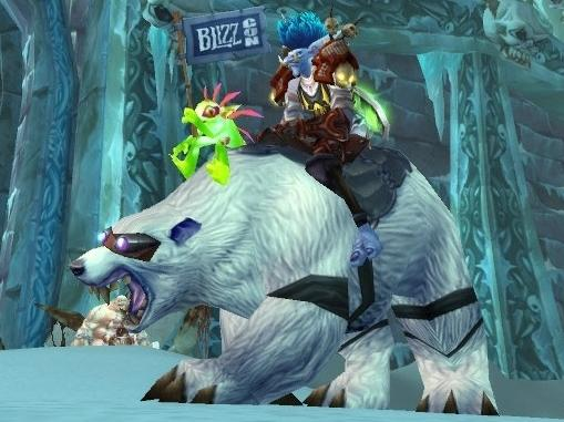Big Bear Blizzard Polar bear mount Blizzcon 2008