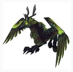 Corrupted Hippogryph mount Corrupted Hippogryph