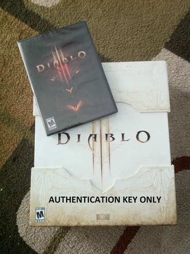 Diablo 3 III Collector Edition CD-key pet Fetish Shaman