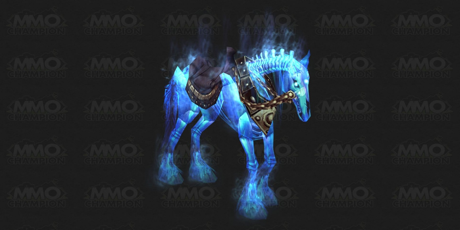 Ghastly Charger´s Skull - The skull is ephemeral horse