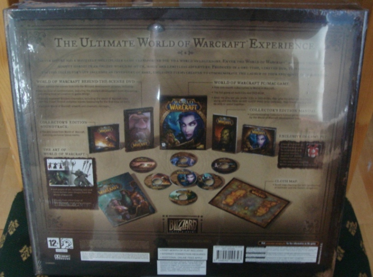 CD-key World of Warcraft Classic Collector Edition EU