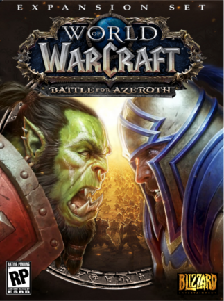 WORLD OF WARCRAFT: BATTLE FOR AZEROTH (US/NA) + LVL 110