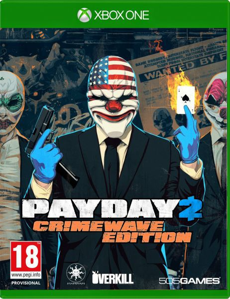 PAYDAY 2: CRIMEWAVE EDITION Xbox One