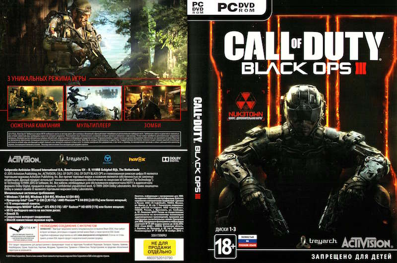I☮CALL OF DUTY: BLACK OPS III 3 (STEAM)+NUK3TOWN