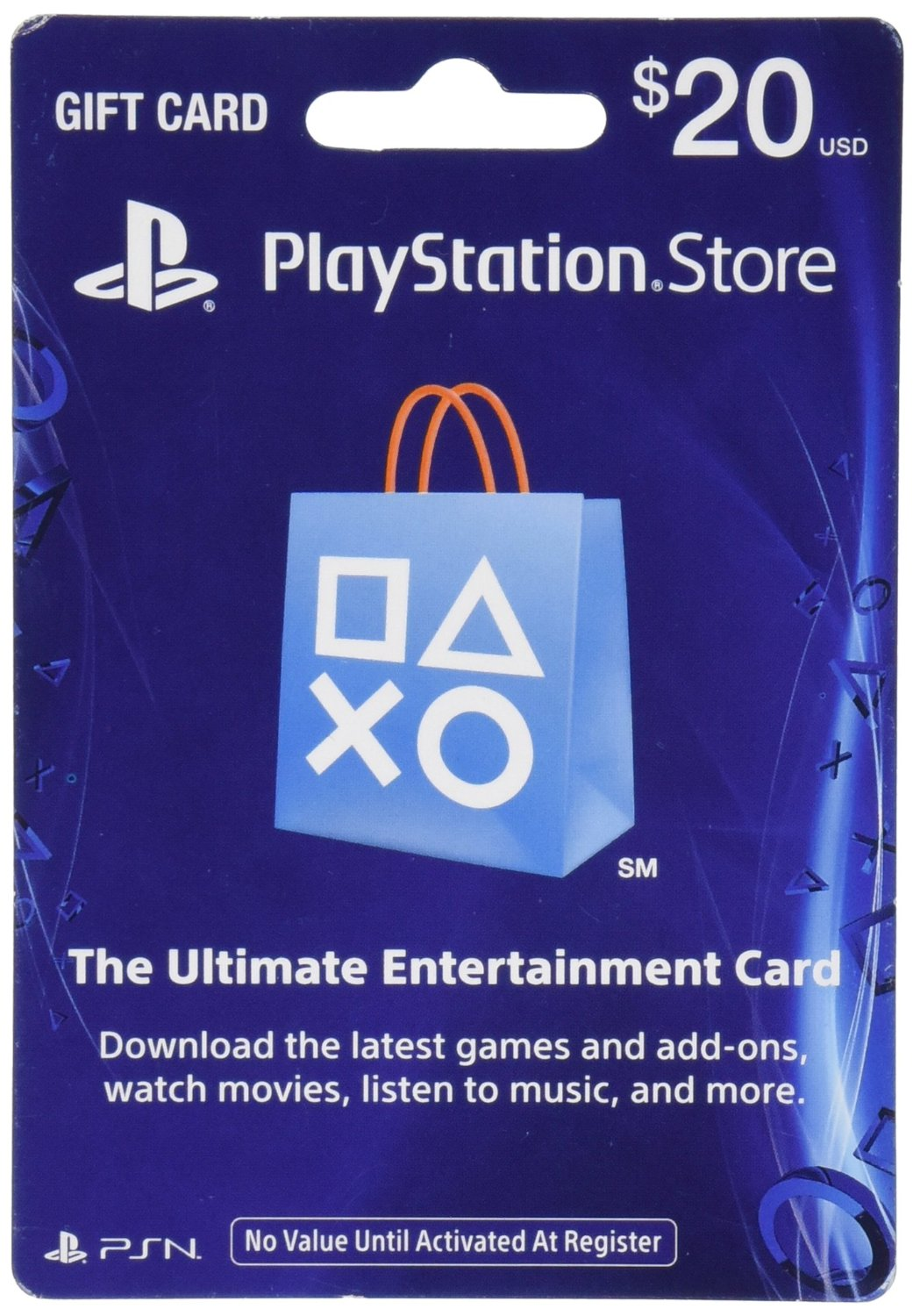 I☮ PSN $20 Playstation Network (USA)