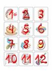для запоминания карточки чисел 1-99