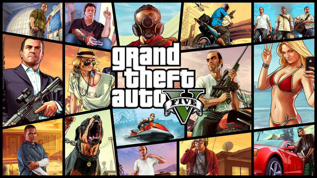 Grand Theft Auto V [Steam Gift] (RU+CIS)