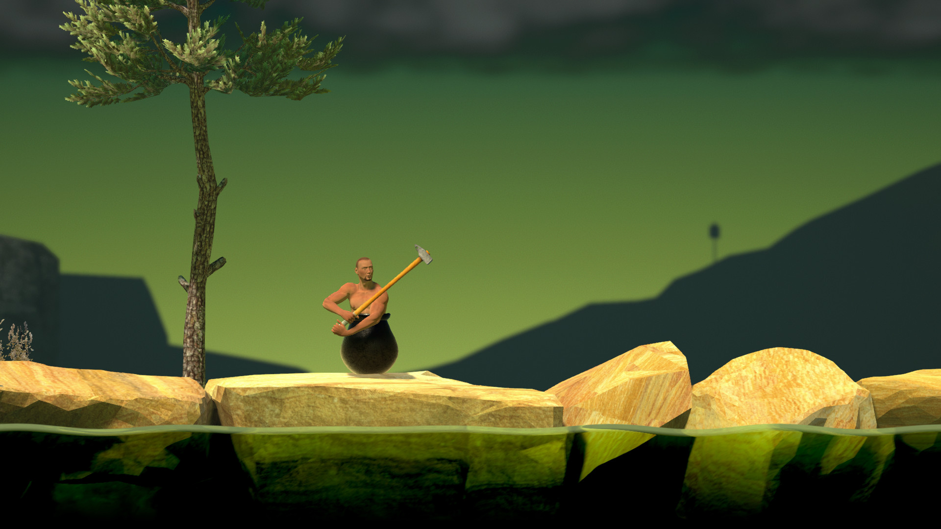 Getting Over It with Bennett Foddy ( Steam Gift | RUS )