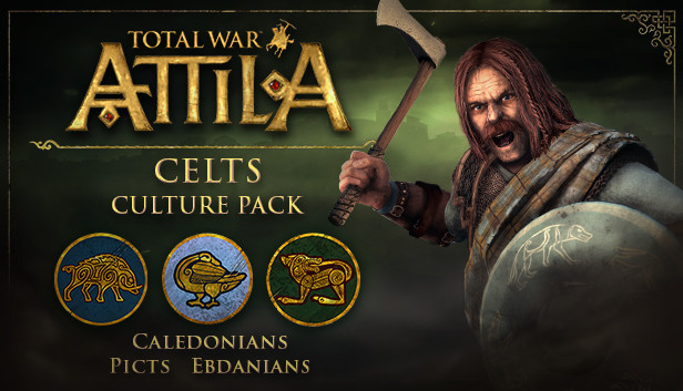 Total War: ATTILA - Celts Culture Pack (Steam|RU+CIS*)