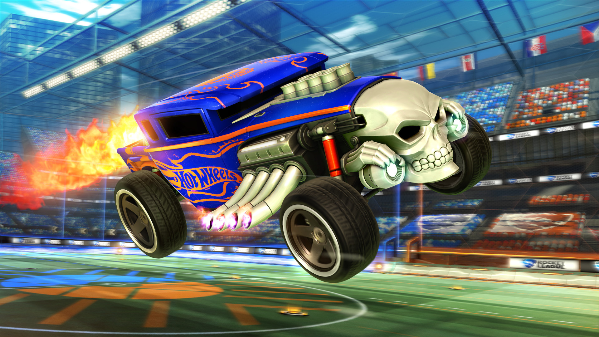 Buy now Rocket League - Hot Wheels Bone Shaker (Steam Gift