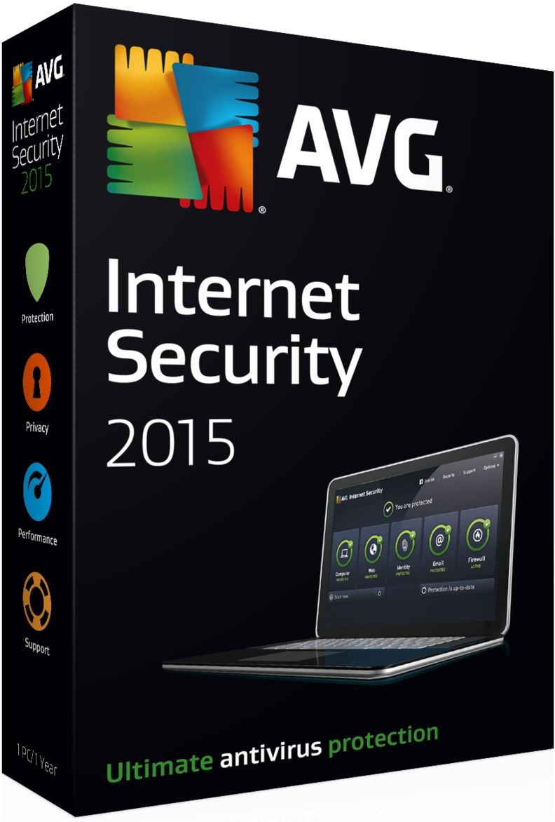 AVG Internet Security, 1 PC 1 year