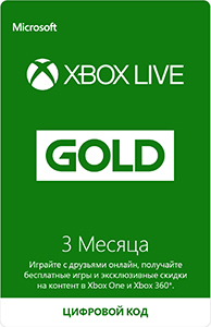 Gold status Xbox Live Gold (3 Months)
