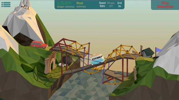 Poly Bridge (Steam Gift, Region RU+CIS)