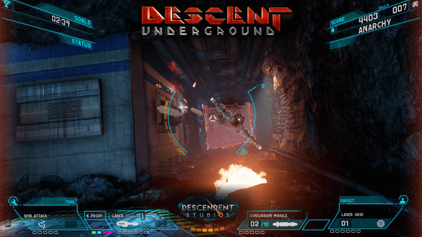 Descent: Underground (Steam Gift, Region RU+CIS)