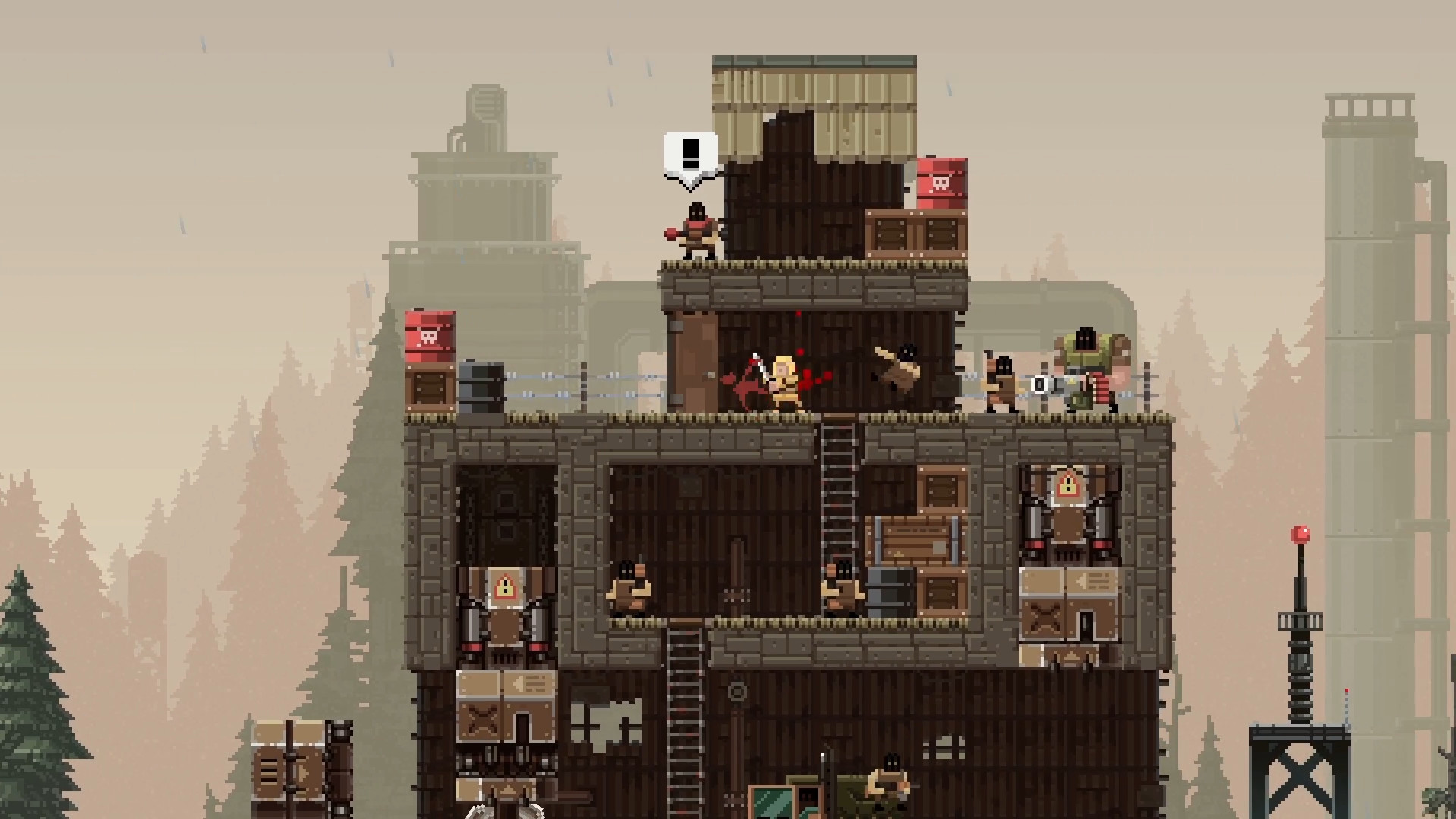 Broforce (Steam Gift, Region RU+CIS)