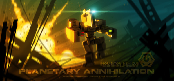 Planetary Annihilation (Steam Gift, Region Free)