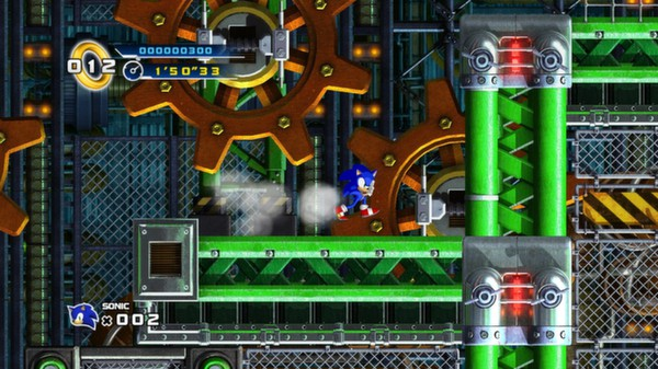 Sonic the Hedgehog 4 - Episode I (Steam Gift, Reg.Free)