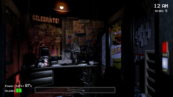 Five Nights at Freddy's (Steam Gift, Region Free)