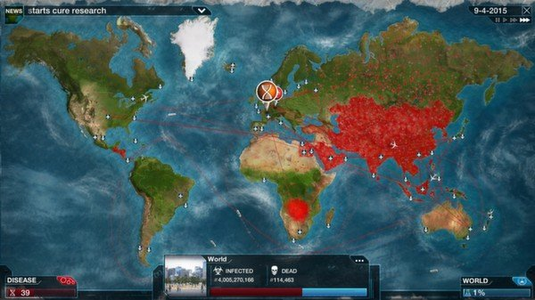 Plague Inc: Evolved (Steam Gift, Region RU+CIS)