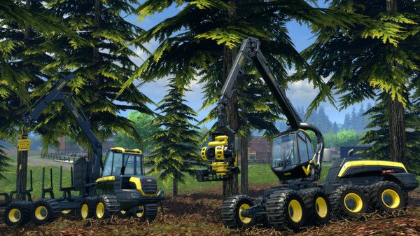 Farming Simulator 15 (Steam Gift, Region RU+CIS)