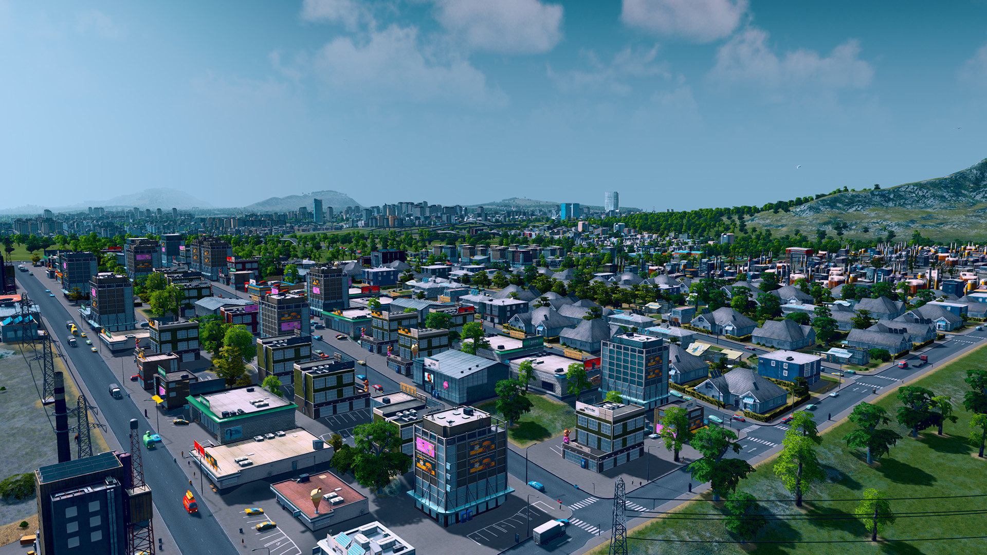 Cities: SKYLINES (STEAM GIFT | RU+CIS)