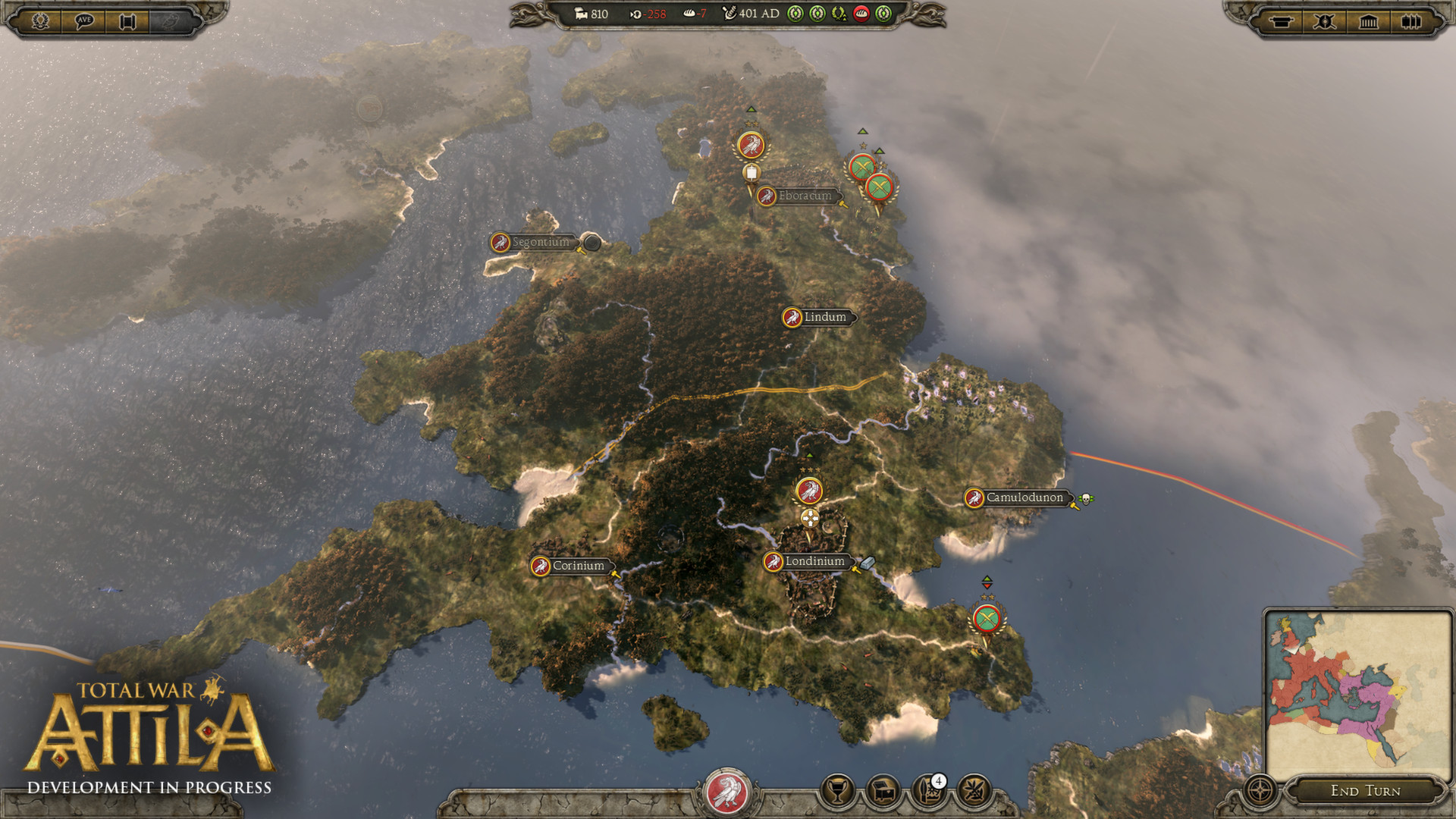 Total War: ATTILA (STEAM GIFT | RU+CIS)